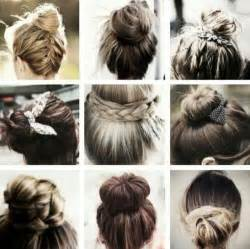 different hair buns types of bun hairstyles hair