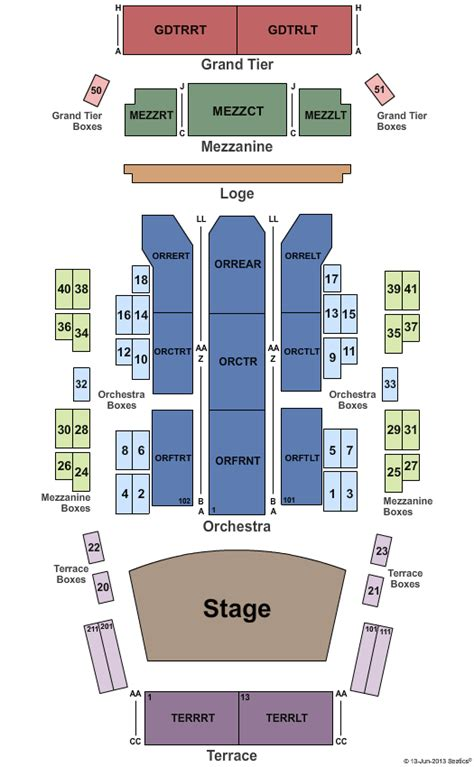 Times Union Box Office by Joe Bonamassa Tickets Seating Chart Times Union Ctr