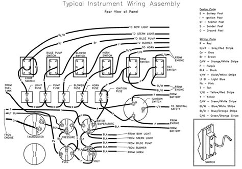 typical instrument wiring instrument wiring assembly
