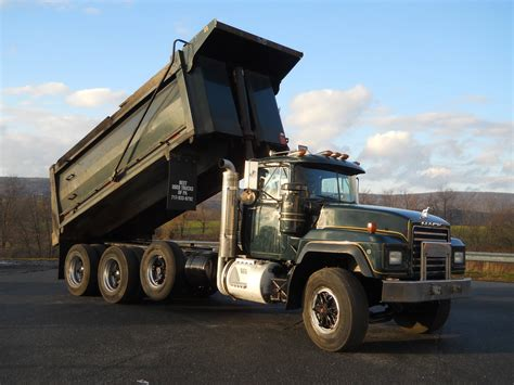 mack dump truck mack tri axle steel dump truck for sale 11531