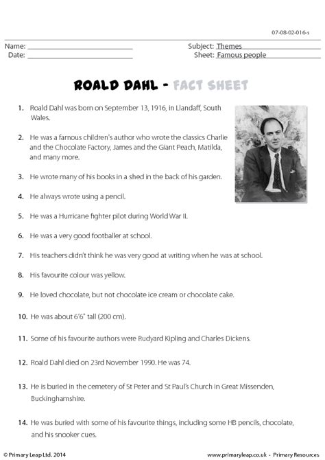roald dahl biography ks2 ppt roald dahl biography for kids fiori idea immagine