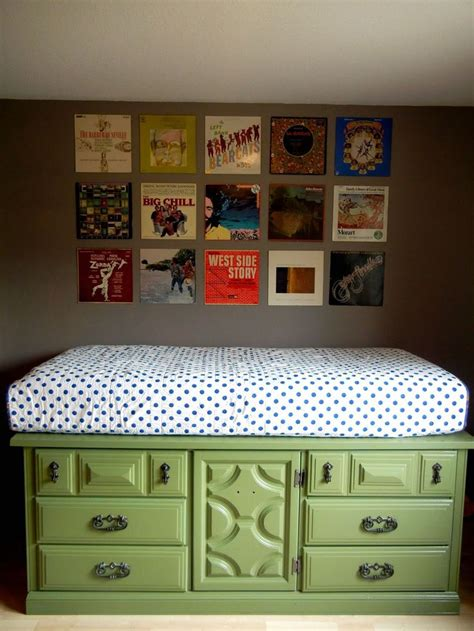 Bed With Dresser Underneath by Bed From Dresser With Surprising Diy Furniture