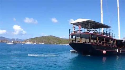 virgin boat drinks willy t s bar british virgin islands youtube