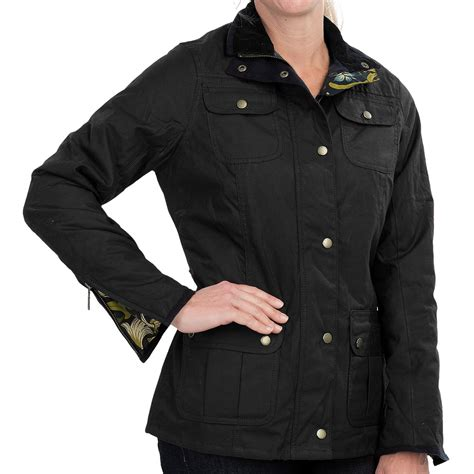 womens barbour waxed cotton utility jacket barbour barbour morris utility jacket for women 8701p save 53