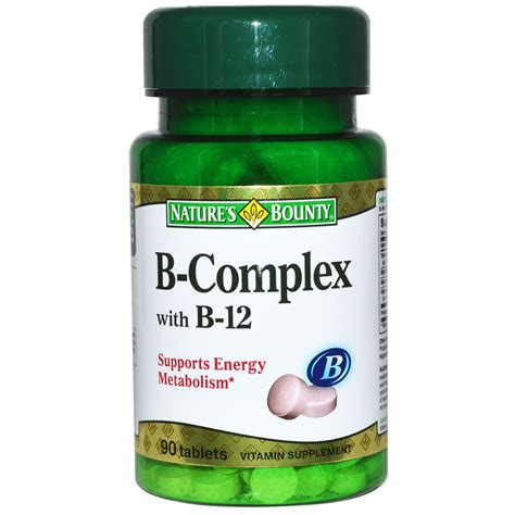 Suplemen Vitamin B Kompleks nature s bounty b complex with b 12 90 tablets iherb