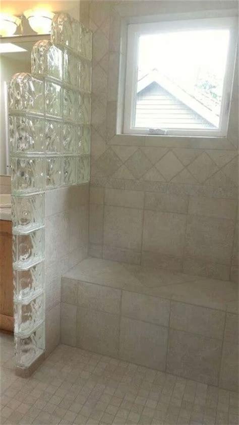 glass block shower enclosures