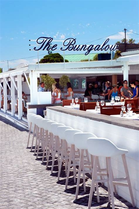 the bungalow restaurant the bungalow clifton cape town pinterest