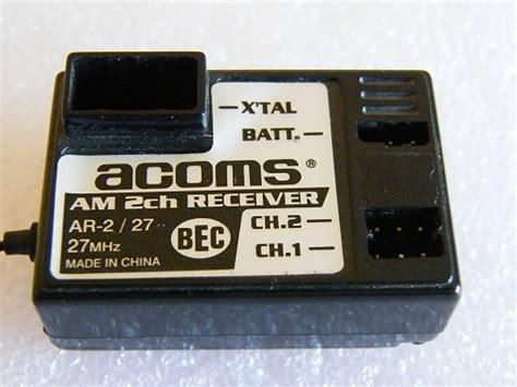 Channel Slash Black 27 30 Tamiyabase Acoms 2 Channel Stick Radio Evolution