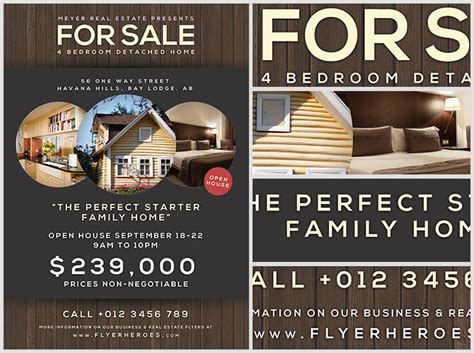 family flyer template family home flyer template flyerheroes
