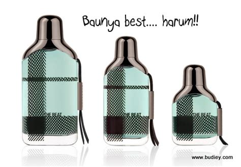Harga Perfume Burberry The Beat advertorial promosi hebat perfume terbaru burberry the