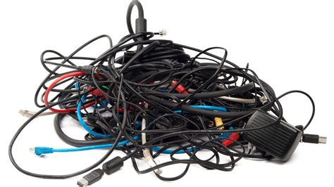 messy wires how messy is your stash of spare cables gizmodo australia