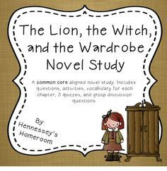 Sparknotes The The Witch And The Wardrobe by A Student Activities And Assessment On