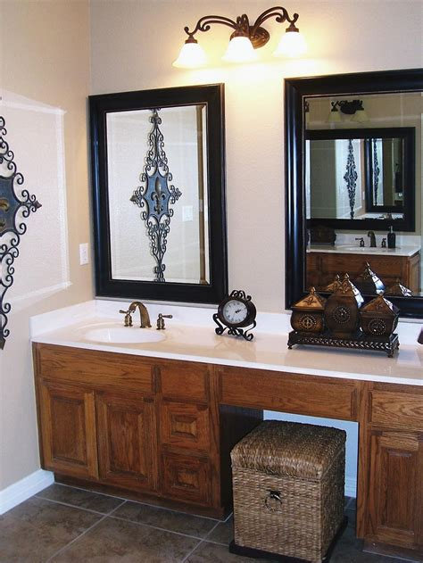 pictures of bathroom vanities and mirrors bathroom vanity mirrors hgtv