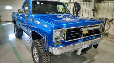 1975 chevy 4x4 four wheel drive c15 truck scotsdale