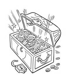 treasure chest coloring page sunken treasure chest coloring sheets coloring pages