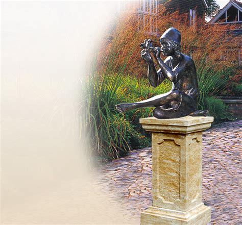 gartenshop bestellen antike figur aus bronze f 252 r den garten kaufen