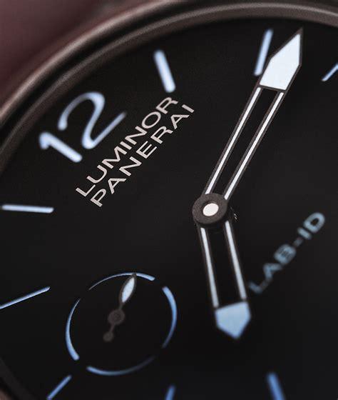 Panerai Lab Id Black Blue panerai lab id luminor 1950 carbotech 3 days pam 700