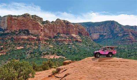 Pink Jeep Tours Sedona Broken Arrow Discover Sedona With Sedona At Bell Rock Arizona