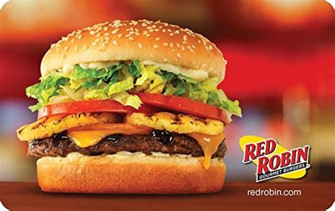 Red Robin E Gift Card - amazon com red robin burger gift cards configuration asin e mail delivery gift cards