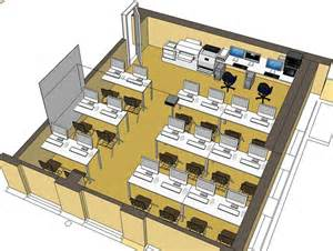 Create Floor Plan In Sketchup designing a multimedia computer lab on behance