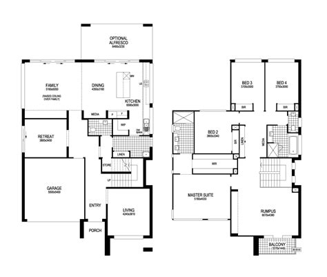 masterton homes floor plans tempus elite from masterton homes