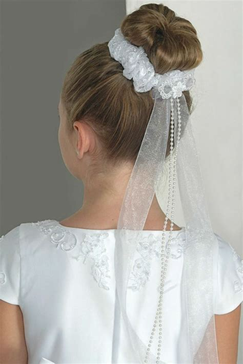 communion hairstyles buns 2462 best images about first communion on pinterest