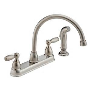 peerless kitchen faucet repair p99575 ss two handle kitchen faucet product documentation