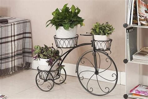 Flower Rattan Bike New Size 28 X 18 Cm balcony bike flower pot tray garden end 1 24 2017 3 15 pm