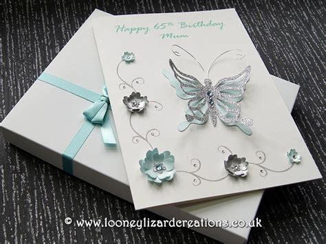 Luxury Handmade Greeting Cards - grace luxury birthday card