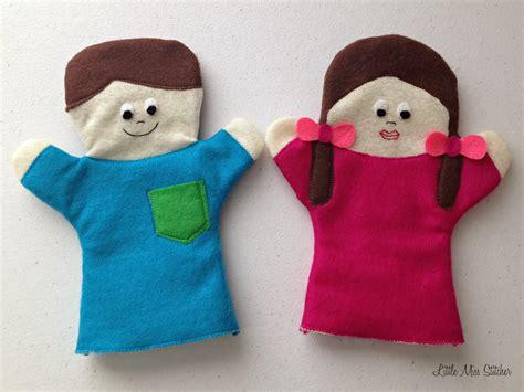 miss stitcher diy boy and felt puppets