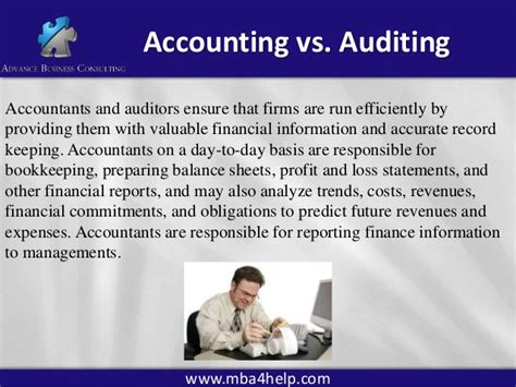 Cpa Vs Mba Accounting by Auditing 304 Part1