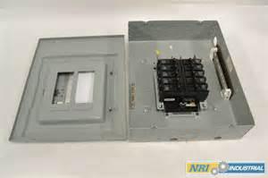 murray lp012df panel board 125a amp 240v ac circuit breaker b321997