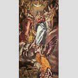 Dormition Of The Virgin El Greco | 305 x 600 jpeg 43kB