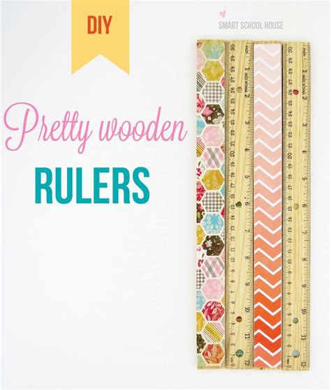 How To Make A Paper Ruler - paper craft rulers
