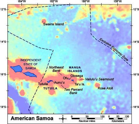 american samoa map pibhmc american samoa