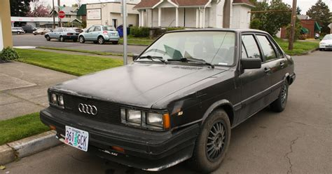 Audi Old Cars by Old Parked Cars 1985 Audi 4000s Quattro