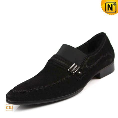mens black nubuck leather designer dress shoes cw743080