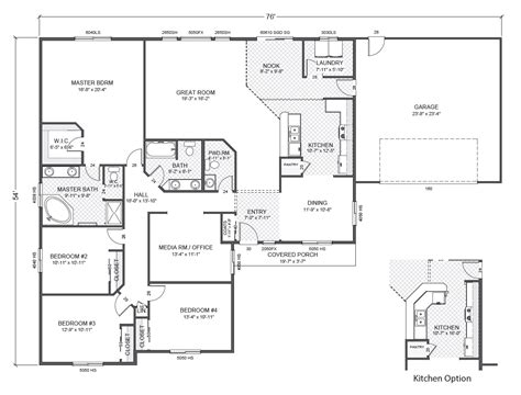 rambler floor plan rambler floor plans greythorne home plan true built home