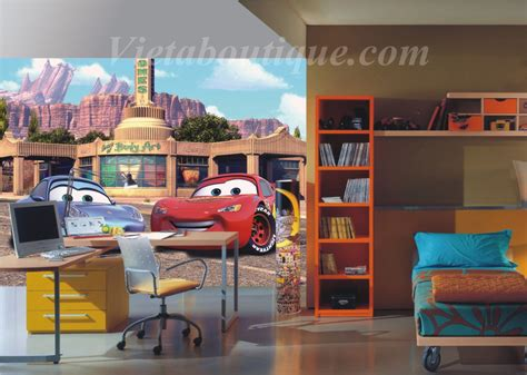 chambre cars disney d 233 co chambre cars walt disney
