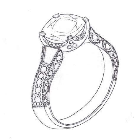 Wedding Ring Design Software by Wedding Rings Sketch Wedding Decorate Ideas