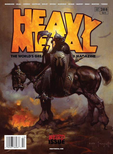Aufnäher Patches Heavy Metal by Heavy Metal Magazine 201607 Vol 281 Issue