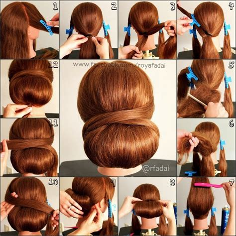 how to do easy hairstyles for kids step by step classy low updo