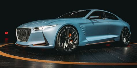 genesis new york concept bows at new york auto show motor trend this genesis new york concept is a sleek glimpse at