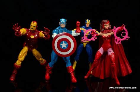 City Color Sculpt Marvel Set 1 marvel legends retro captain america figure review