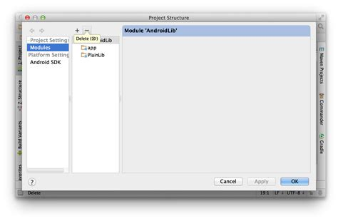 android studio delete project how to delete module in android studio