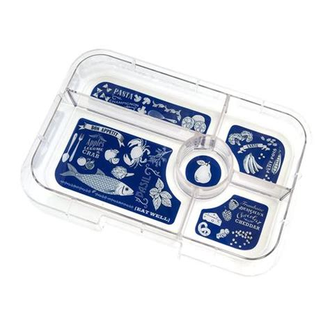 Yumbox Tapas Antibes Blue 5 Comp Bon Appetit Tray canada s yumbox shop free shipping available cutekidstuff