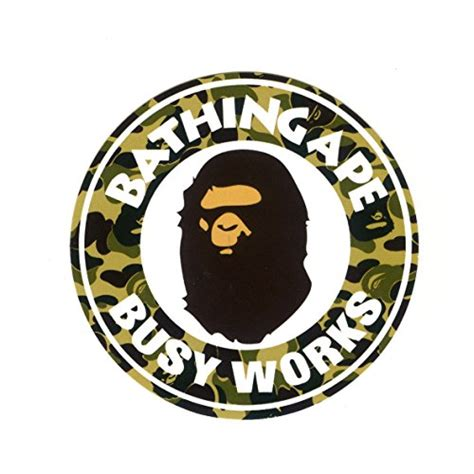 Bathing Ape Busy Work Bape 1598 a bathing ape busy works badge bape 7cm 3 quot decal sticker buy in bahrain misc