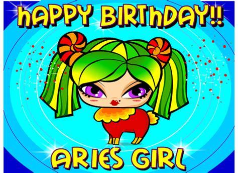 Aries Birthday Cards Ecards Aries Girl