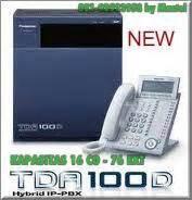 Pabx Kx Tda 100d jual pabx panasonic kx tda 100d kx tda200 kx tda600