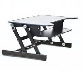 adjustable desktop standing desk er healthy sit stand desktop computer workstation height